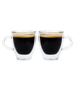 GROSCHE TURIN glass espresso cups